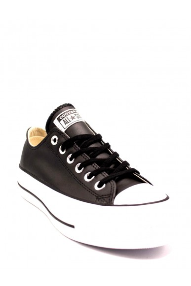 Converse Sneakers F.gomma Ctas lift clean ox black/black/whit Donna Nero Casual