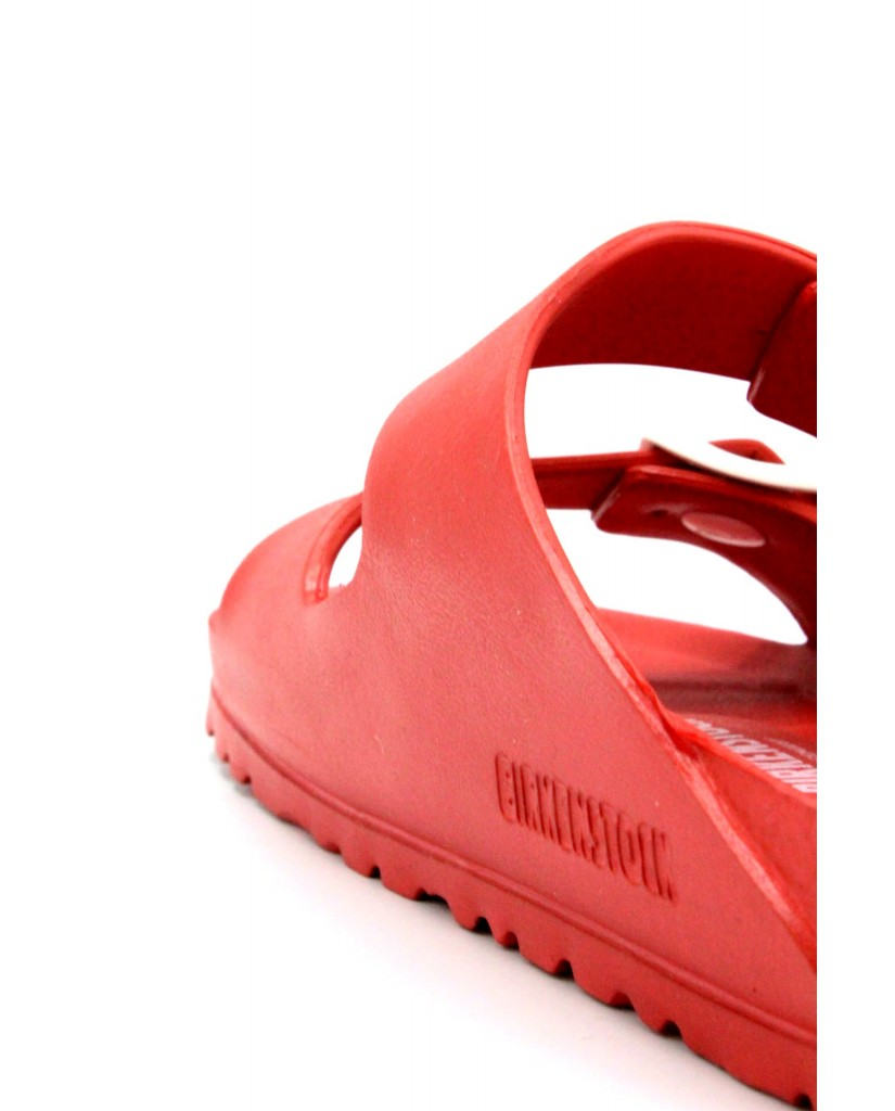 Birkenstock Ciabatte F.gomma 36/45 Unisex Rosso Classico