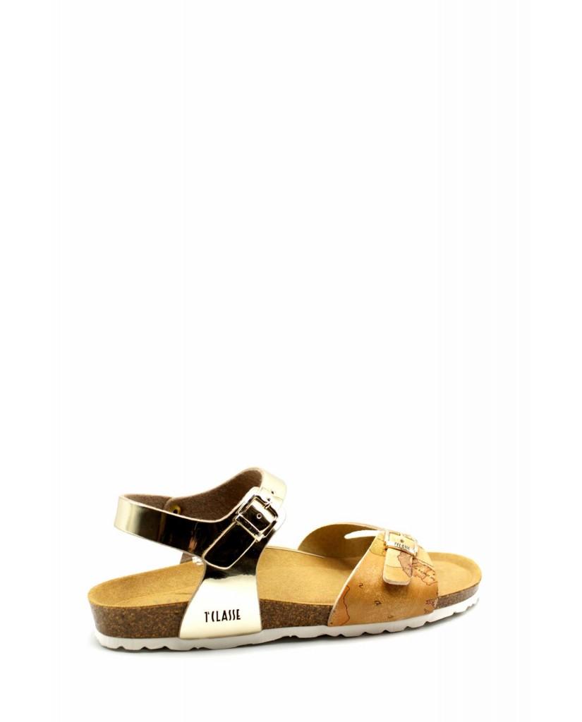 1^classe  Sandali F.gomma N0228 Donna Beige Fashion