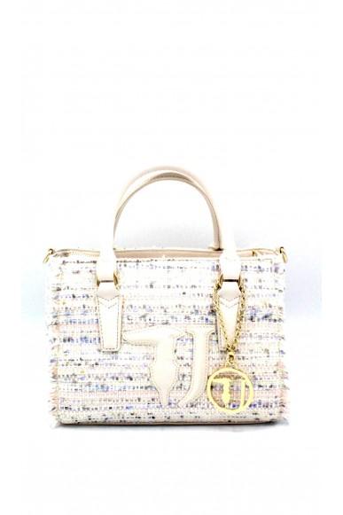 Trussardi Borse Handbag con tracolla Donna Bianco Fashion