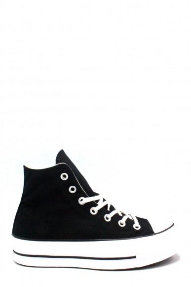 Converse Sneakers F.gomma 35/41 Donna Nero-bianco Sportivo