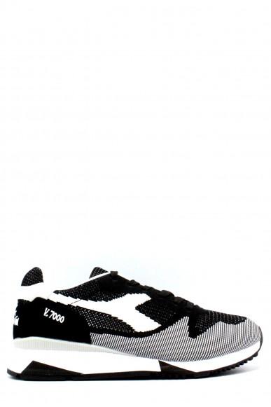 Diadora Sneakers F.gomma 39-45 v7000 wave Uomo Nero Sportivo
