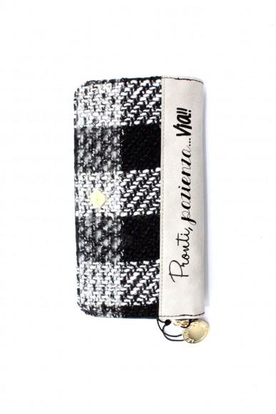 Le pandorine Portafogli - Wallet 2.0 velvet via Donna Grigio Fashion