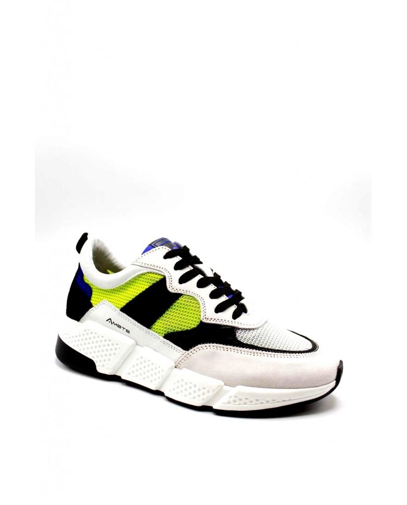 Ambitious Sneakers F.gomma 40/45 10339a Uomo Bianco Fashion