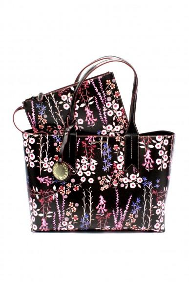 Emporio armani Borse - Shopping bag        blackmulti Donna Multicolor/nero Fashion
