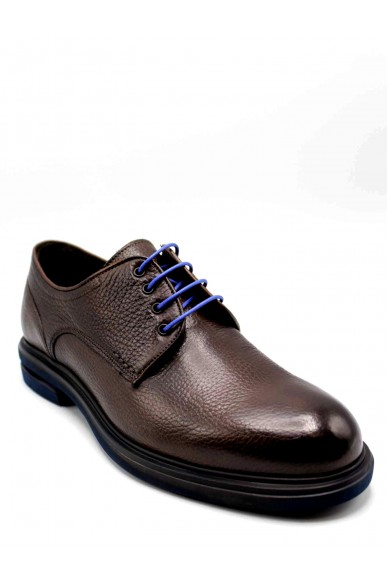Brecos Stringate F.gomma Uomo Marrone Fashion
