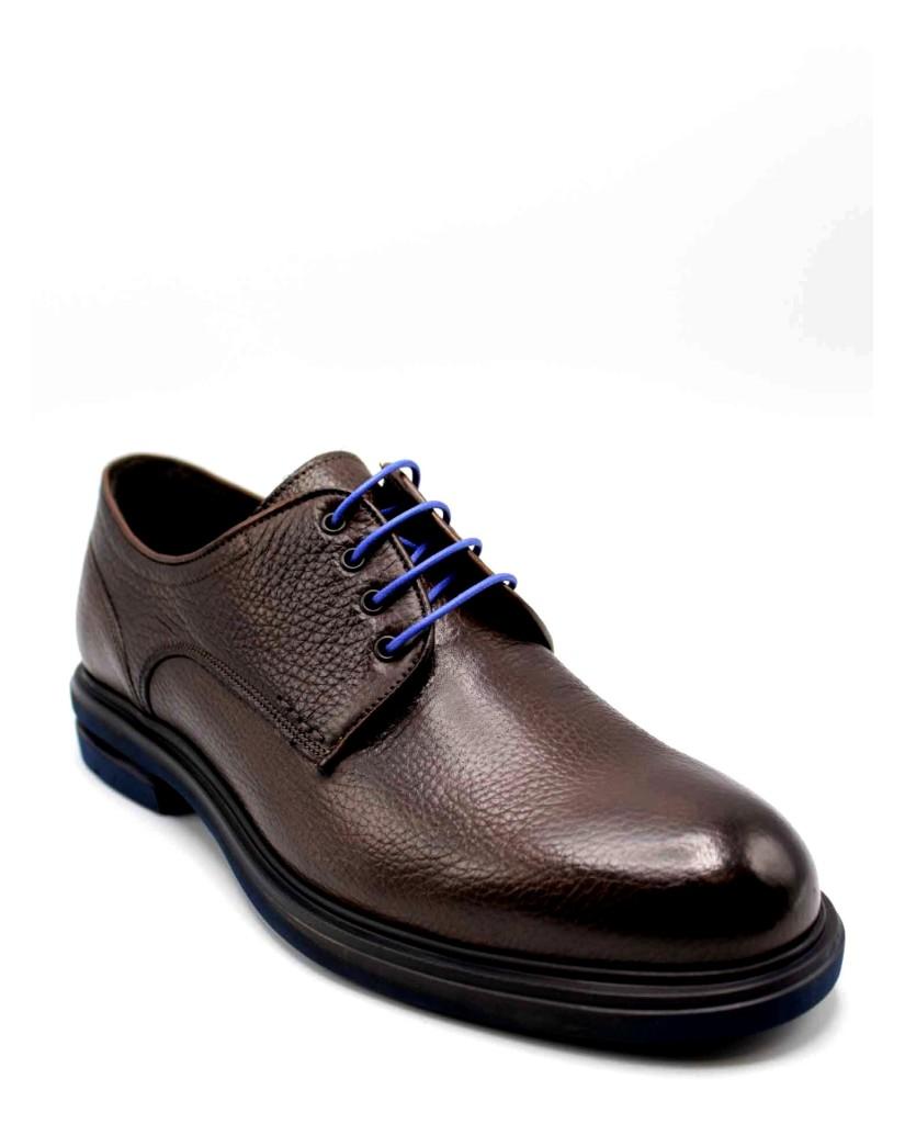 Brecos Stringate F.gomma Uomo Marrone Fashion