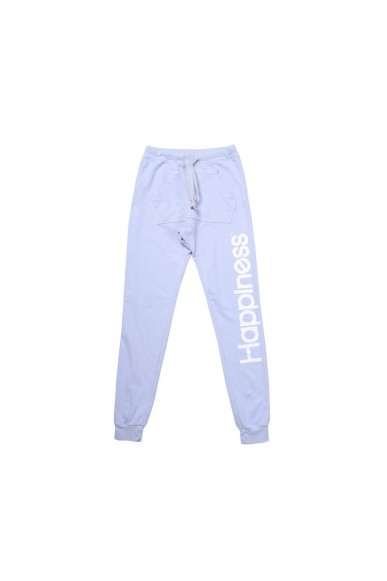 Happiness Pantaloni Xs-m Donna Azzurro