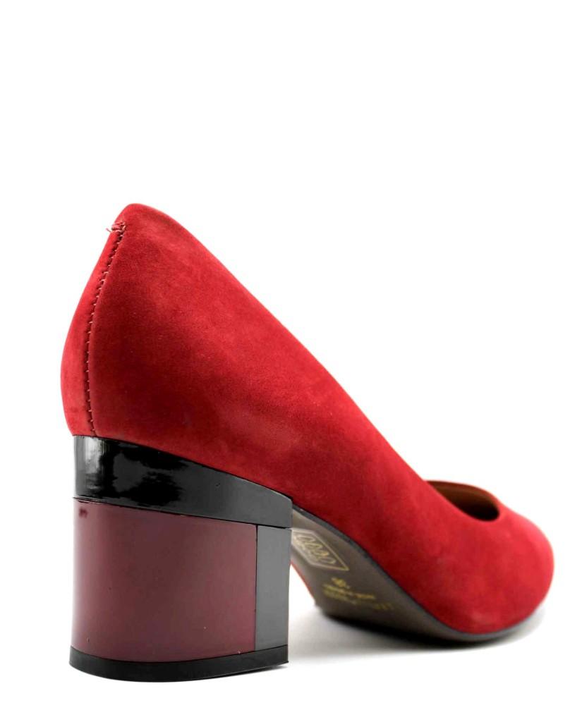 Capelli rossi Decollete F.gomma Donna Rosso Fashion