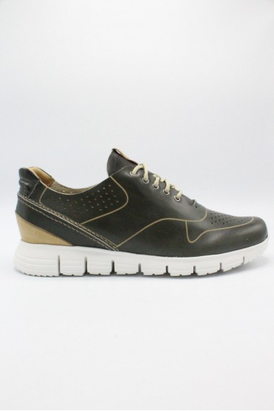Exton Sneakers F.gomma 39-45 made in italy Uomo Verde Casual