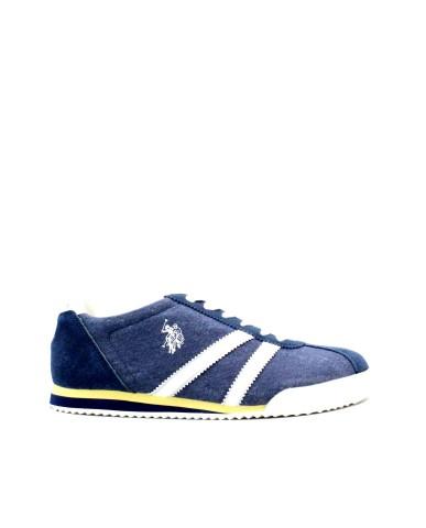 Us polo Sneakers F.gomma 40/45 rune Uomo Blu Fashion