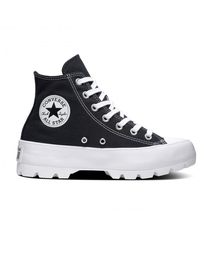 Converse Sneakers F.gomma Ctas lugged hi Donna Nero Fashion
