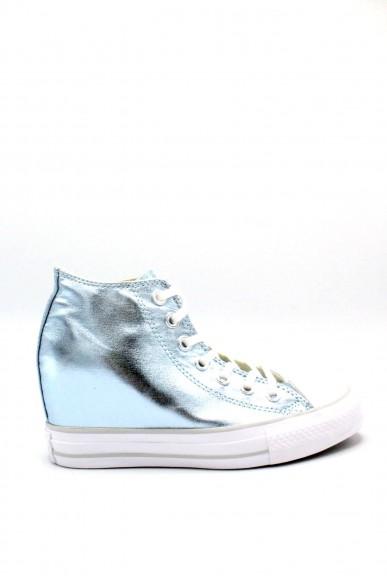 Converse Sneakers F.gomma 35/41 chuck taylors lux Donna Ghiaccio Sportivo