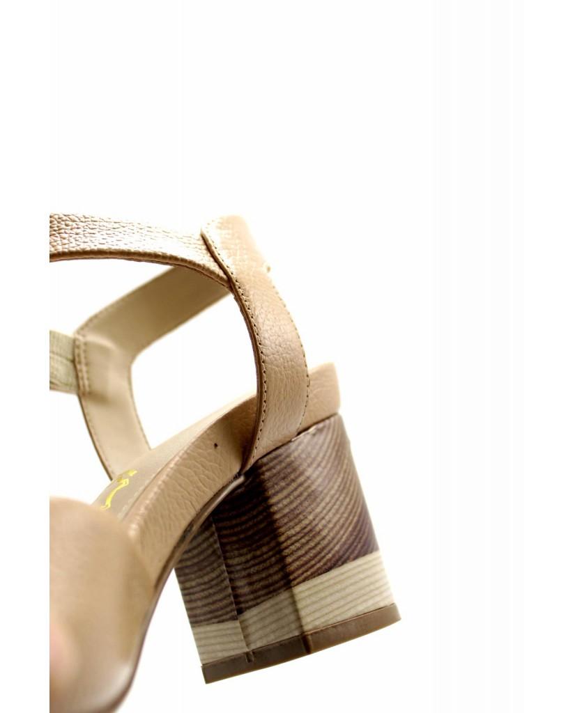Capelli rossi Sandali F.gomma 8766-490-510 Donna Beige Fashion