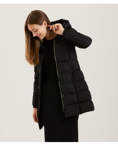 Refrigiwear Giacchetti   Lady long hunter jacket Donna Nero Fashion
