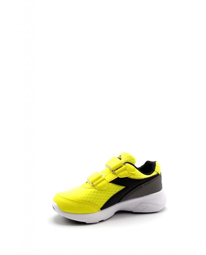 Diadora Sneakers F.gomma Eagle 3 jr Bambino Giallo-nero Sportivo