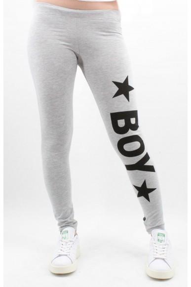 Boy london Leggings Donna Grigio Casual
