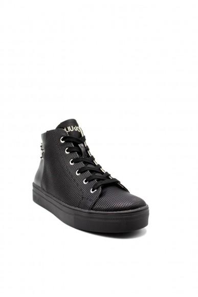 Liu.jo Sneakers F.gomma Alicia 127 Donna Nero Fashion