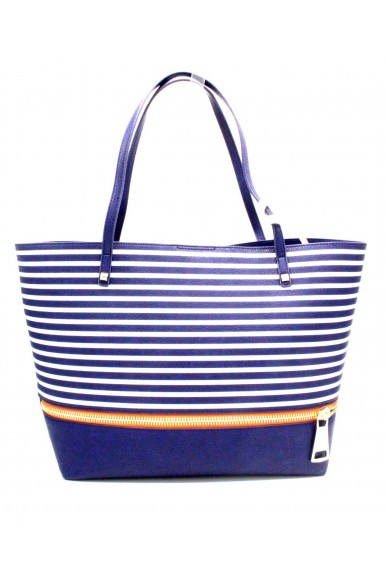 Patrizia pepe Borse Borsa shopping con pochette interna Donna Blu Fashion