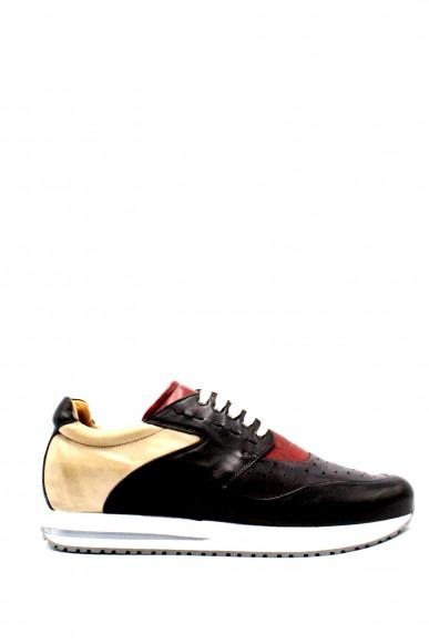 Brecos Sneakers F.gomma 40-45 made in italy Uomo Nero-grigio Casual