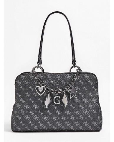 Guess Borse - Affair girlfriend satchel Donna Grigio Fashion