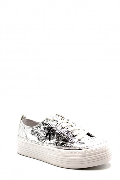 Calvin klein Sneakers F.gomma Zolah metallic Donna Argento Fashion