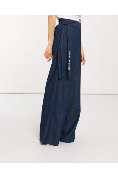 Silvian each Pantaloni Donna Blu Casual