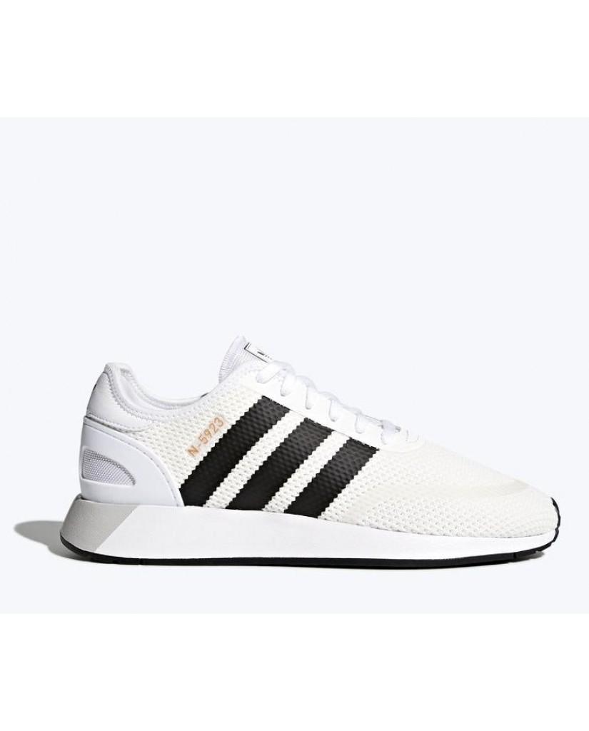 Adidas Sneakers F.gomma 39/46 n-5923 Uomo Bianco Sportivo