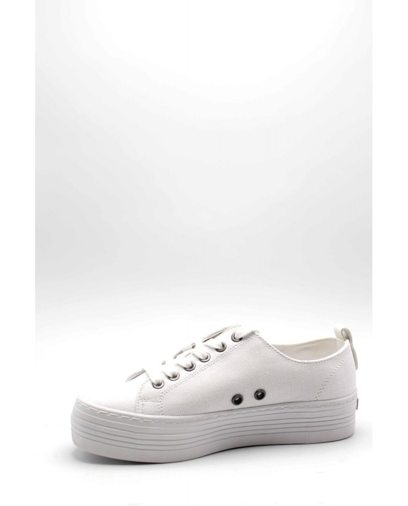Calvin klein Sneakers F.gomma Zolah canvas Donna Bianco Fashion