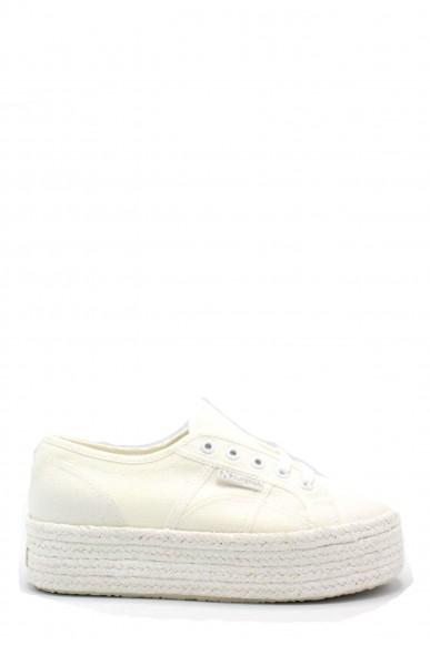 Superga Sneakers F.gomma 35/41 2790 cotcoloropew ss18 Donna Bianco Sportivo
