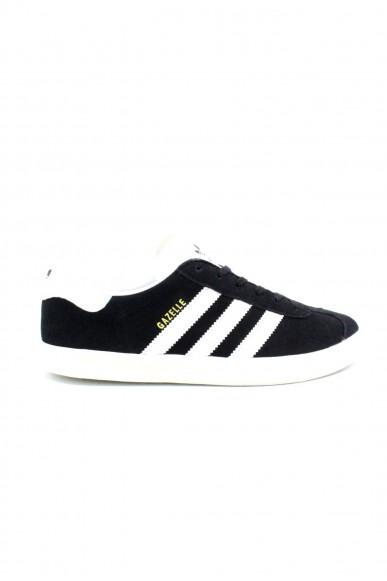 Adidas Sneakers F.gomma 36/39 gazelle Donna Nero-bianco Sportivo
