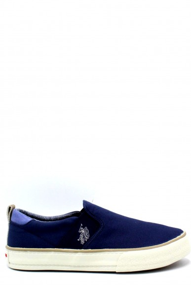 Us polo Slip-on F.gomma 40/46 boston ss18 Uomo Blu Fashion