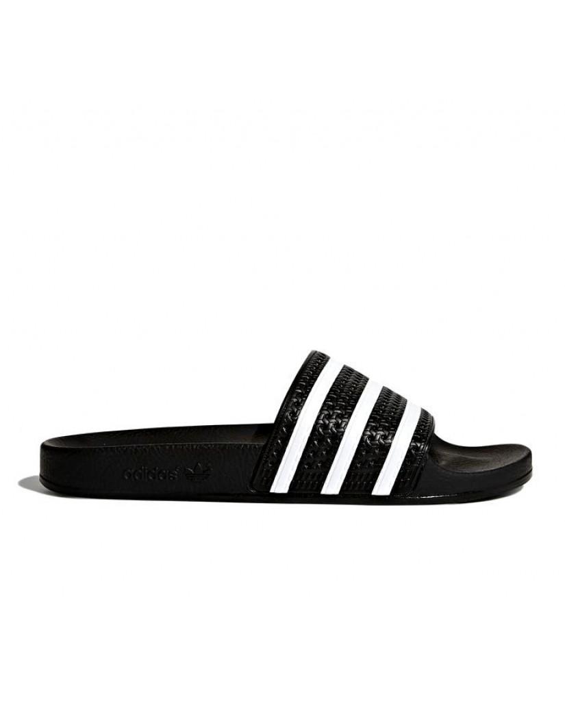 Adidas Ciabatte F.gomma 39/46 adilette black Uomo Nero Sportivo