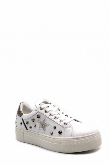 Cult Sneakers F.gomma Cle103970 Donna Bianco Fashion