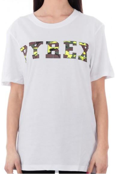 Pyrex T-shirt Unisex Giallo Casual