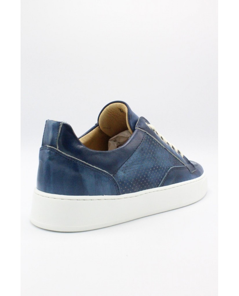 Exton Sneakers F.gomma 39-44 made in italy Uomo Blu Casual