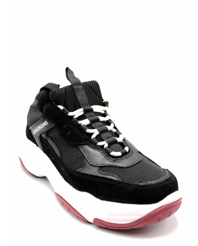 Calvin klein Sneakers F.gomma Uomo Nero Fashion