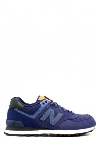 New balance Sneakers F.gomma 39-46 ml 574 Uomo Blu Sportivo