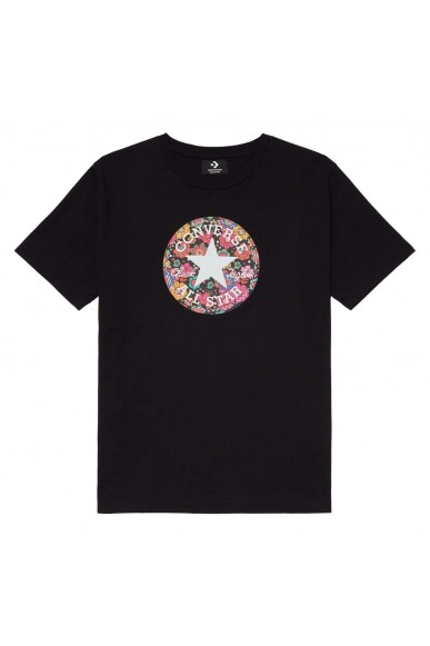 Converse T-shirt F.gomma T-shirt ss chuck graphics Donna Nero Fashion
