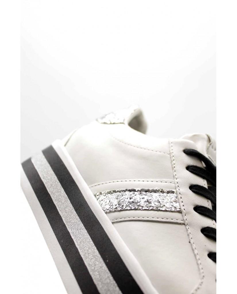 Apepazza Sneakers F.gomma Iris Donna Bianco Fashion