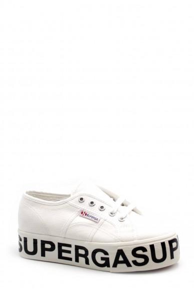Superga Sneakers F.gomma S00fj80 Donna Bianco Sportivo