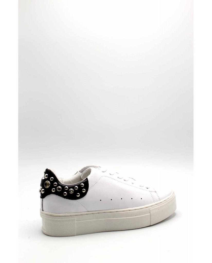 Cult Sneakers F.gomma 36/40 Donna Bianco-nero Fashion
