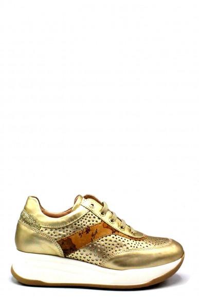 1^classe  Sneakers F.gomma 35/40 Donna Platino Fashion