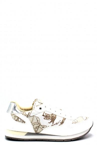 1^classe  Sneakers F.gomma 35/40 0418/0030 Donna Bianco Fashion