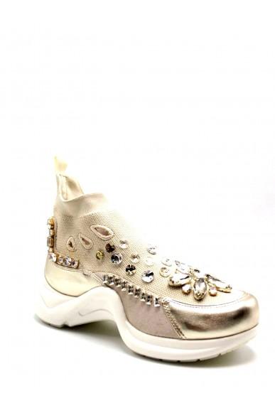 La femme plus Sneakers F.gomma 6304 Donna Platino Casual