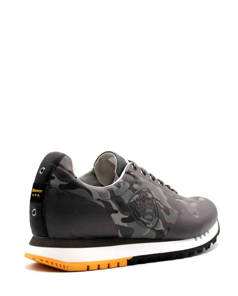 Blauer Sneakers F.gomma Denver02 Uomo Grigio Fashion