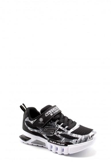 Skechers Sneakers F.gomma 27-34 400018l Bambino Nero Casual