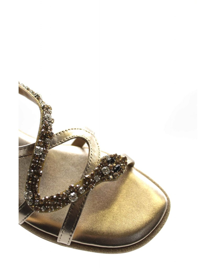 Alma en pena Sandali F.gomma Donna Bronzo Fashion