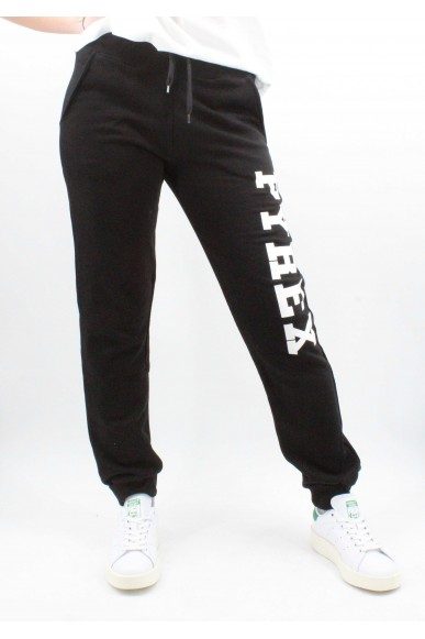 Pyrex Pantaloni   Pantalone unisex in felpa Unisex Nero Fashion