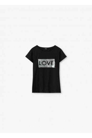 Liu.jo T-shirt Donna Nero Casual